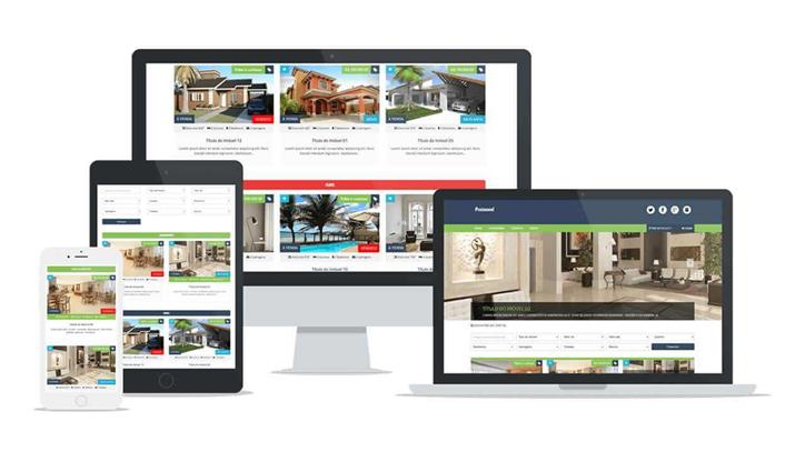 Criação de site para Imobiliária