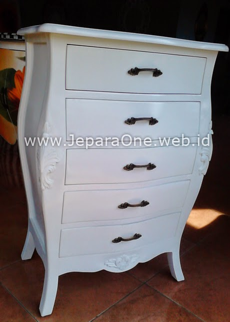White Five - filling cabinet JeparaOne