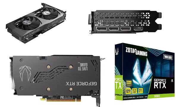 Zotac-Gaming-GeForce-RTX-3060-12GB-Twin-Edge-Front-Top-Back-Side-IO-Box-View