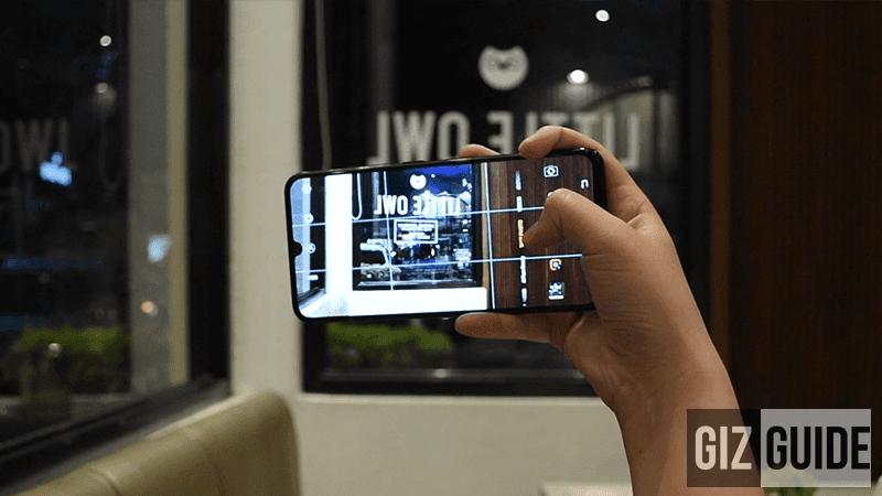 V11 camera UI