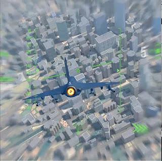 Боевые самолеты разработка уровень андроид город небоскребы летать самдики Игорь Новик 3д художник