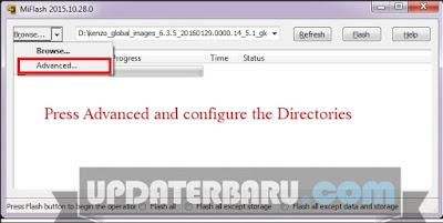 Membetulkan dan memperbaiki redmi note 3 pro yang error botloop dengan flash