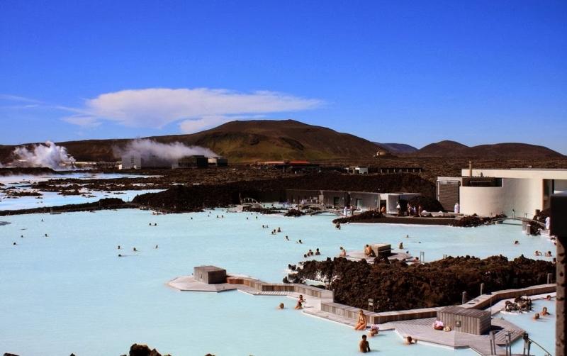 лагуна гейзеры исландия