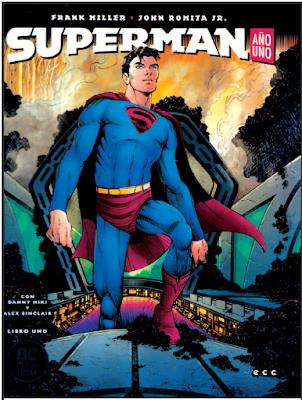 Superman año 1 Frank Miller John Romita Jr ECC ediciones  comic