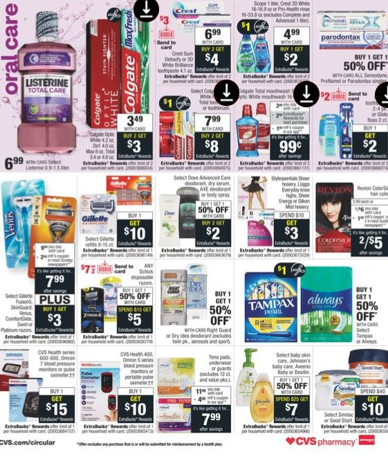 CVS Weekly Ad Preview 8-30-9-5
