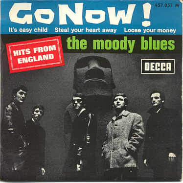 The Moody Blues (Go Now!) EP (FRA) 1965