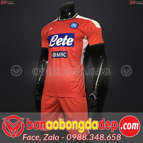 Áo Napoli Màu Đỏ 2020 Training 1