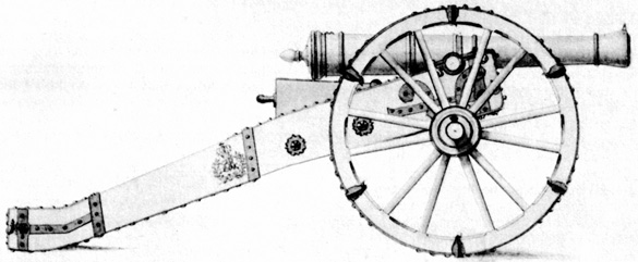 My Seven Year's War: Prussian SYW Artillery scale drawings