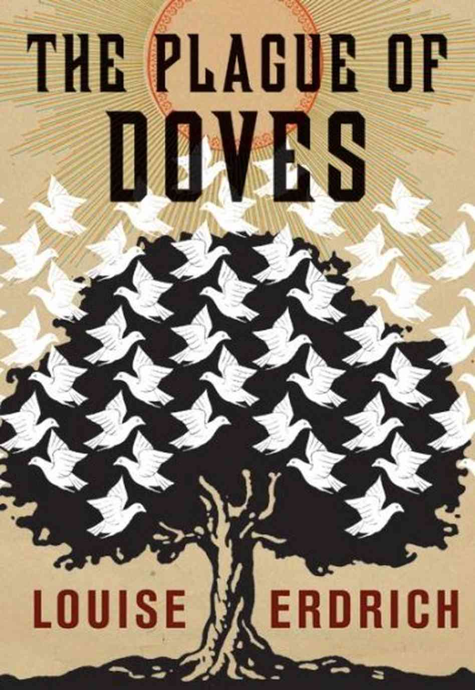 Book cover for Louise Erdrich's The Plague of Doves in the South Manchester, Chorlton, and Didsbury book group