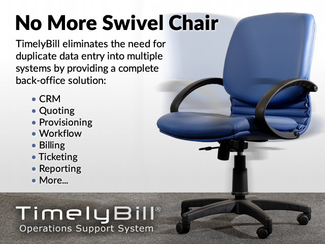 Goodbye swivel chair billing.