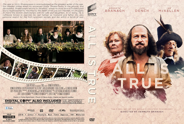 All Is True DVD Cover
