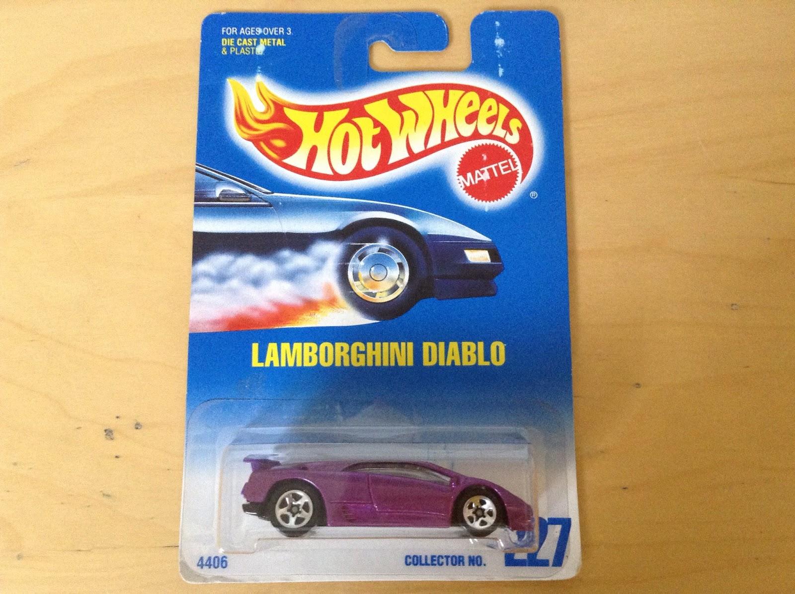 Julian S Hot Wheels Blog Lamborghini Diablo