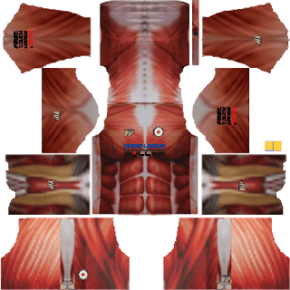 kit dream league soccer 2016 attack on titan