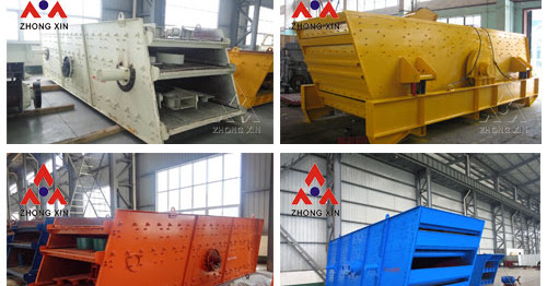 circular vibrating screen used as a grading machine in coal dressing, ore dressing, construction material, electric and chemical industries.