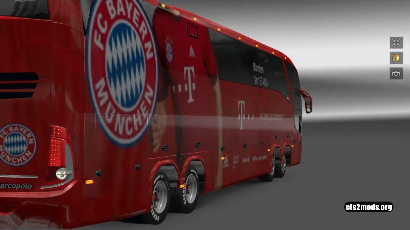 Bus – Marcopolo G7 1600LD FC Bayern Munchen
