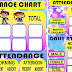 ATTENDANCE CHART (Ready to Print)