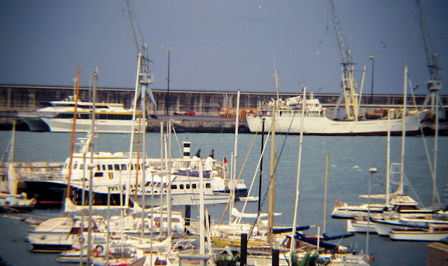 ships full of history at the port