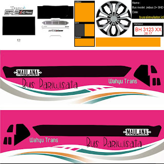Download Livery Wahyu Trans