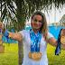 ESPORTE - Lutadora que migrou de esporte para tratar filho irá em busca do campeonato brasileiro de jiu-jitsu