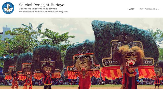 Ditjen Kebudayaan Membuka Seleksi Calon Penggiat Budaya Tahun 2020