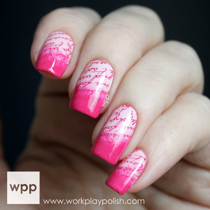 Incoco Nail Wraps with Nail Polish Gradient