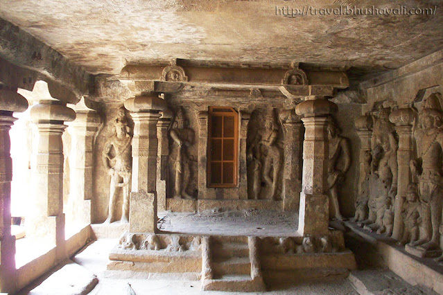 Lower Cave temple (Pandyas) in Trichy