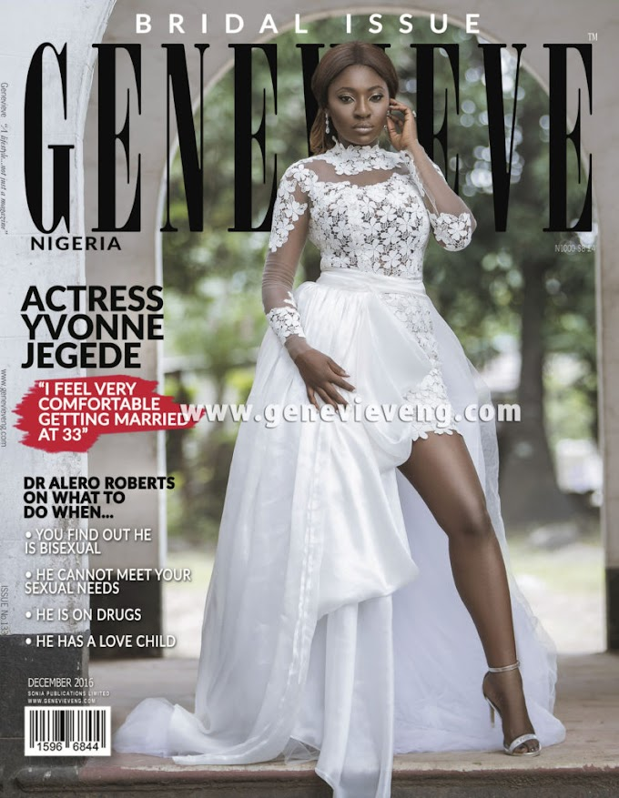 Actress Yvonne Jegede  Said She Is Very Comfortable Getting Married At The Age Of 33