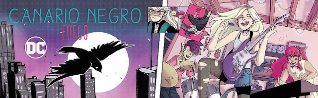 Comic: Review de Canario Negro: Fuego de Meg Cabot y Cara McGee - Editorial Hidra