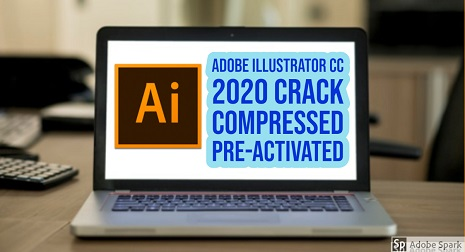 Adobe Illustrator CC 2020 Crack Compressed Pre-Activated
