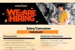 Lowongan kerja Sales Canvaser Sukabumi