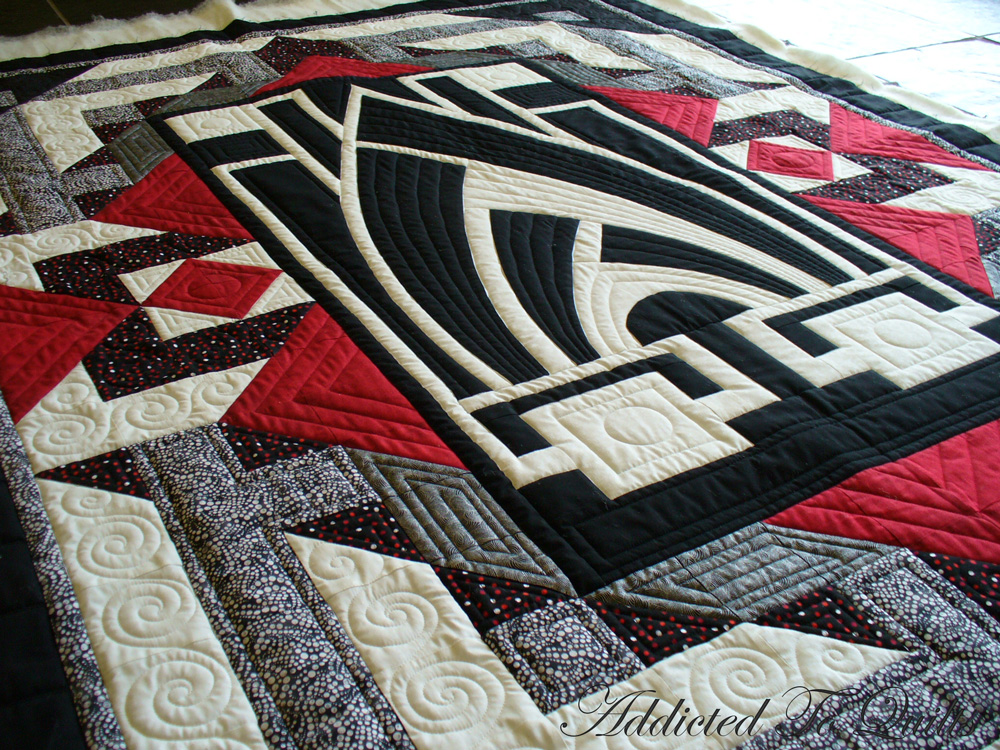 Addicted to quilts art deco quilt - What is art deco ...