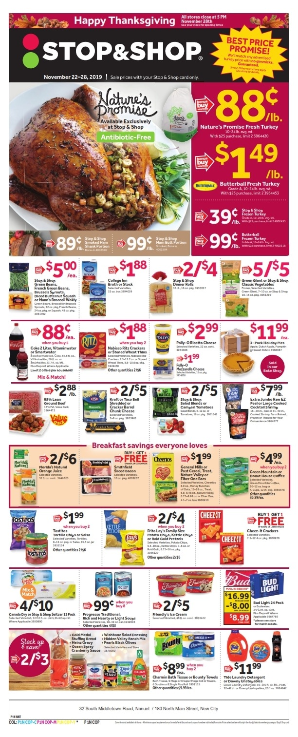 Stop and Shop Flyer
