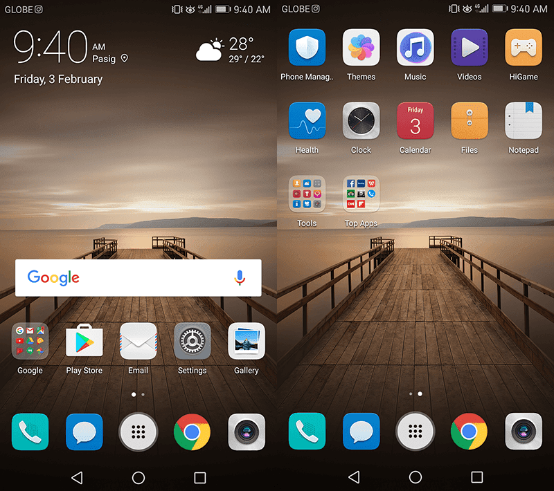 EMUI 5.0 skin is clean and feature packed!
