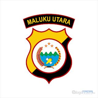 Polda Maluku Utara Logo vector (.cdr)