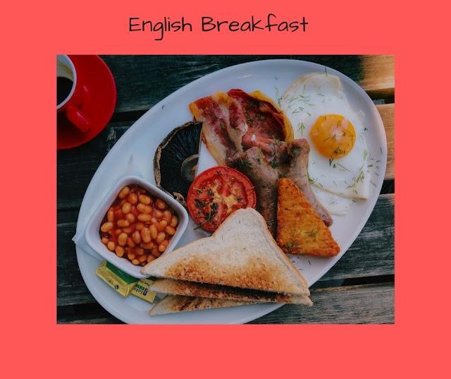 tipica colazione inglese