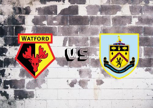 Watford vs Burnley  Resumen