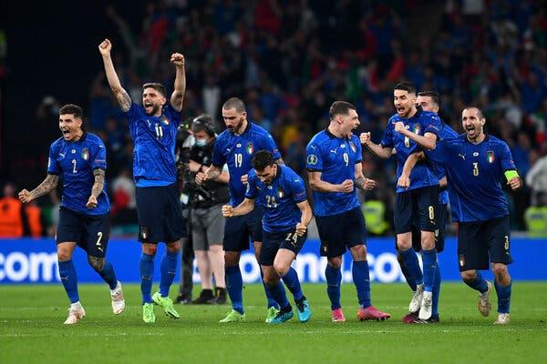 EURO 2020 Final: Azzurri Joy at the Last