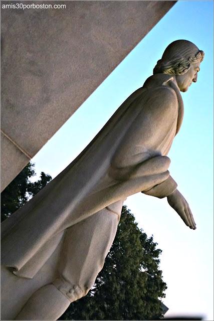Escultura de Roger Williams, Fundador de Rhode Island