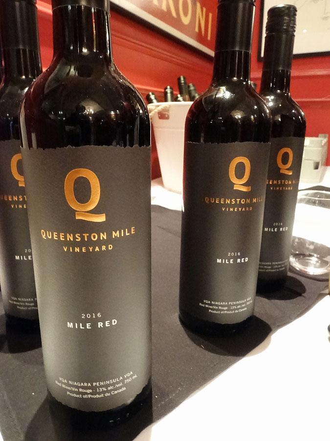 Queenston Mile Vineyard Mile Red 2016
