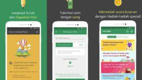 Aplikasi penghasil kuota, pulsa, atau uang gratis