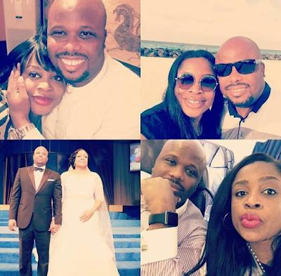 Gospel Singer Sinach & her husband, Joe Egbu celebrate their wedding anniversary (see photos)