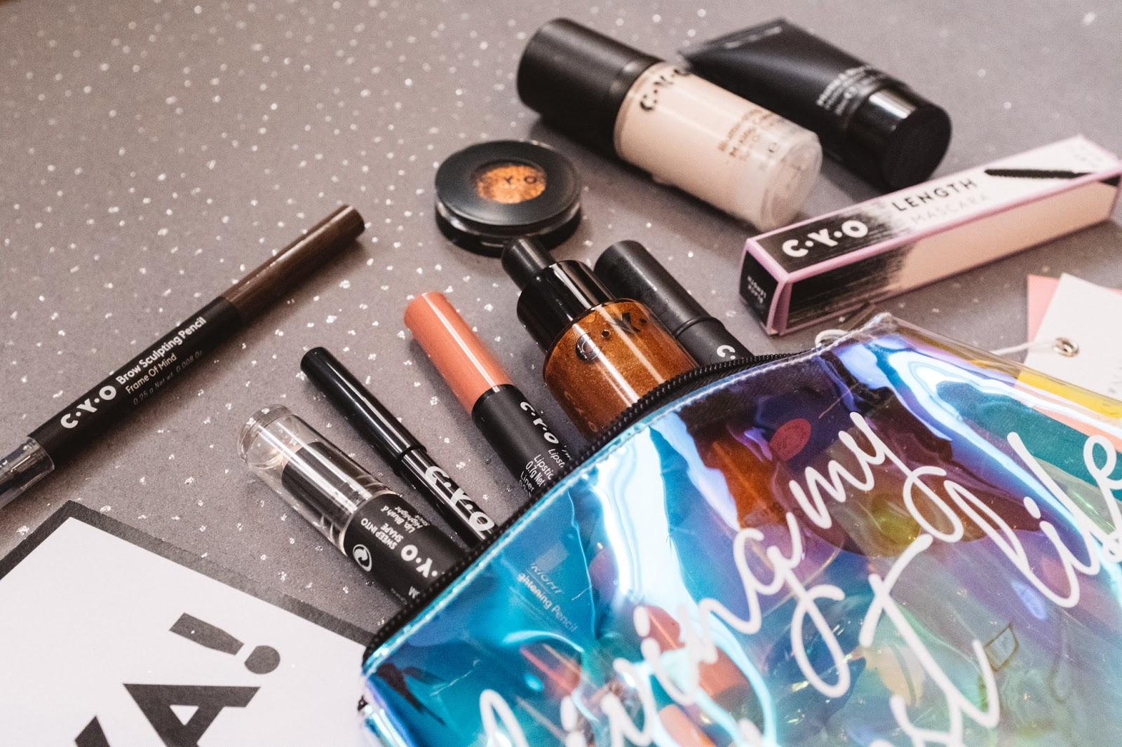 CYO makeup blogger review
