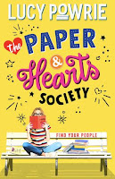 The Paper & Hearts Society by Lucy Powrie cover