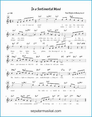 in a sentimental mood lagu jazz standar