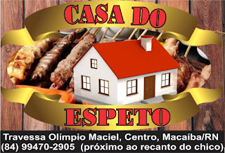 CASA DO ESPETO: Trav:Olímpio Maciel  Próx: Recanto do chico