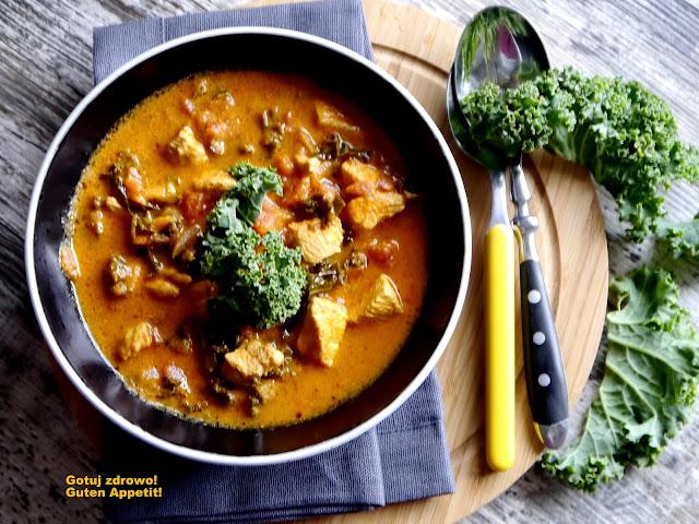 Kokosowe curry z kurczaka i jarmużu. Dieta szybka przemiana. Faza III - Czytaj więcej »