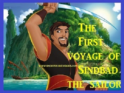The First Voyage of Sindbad the Sailor - Short Story for Kids