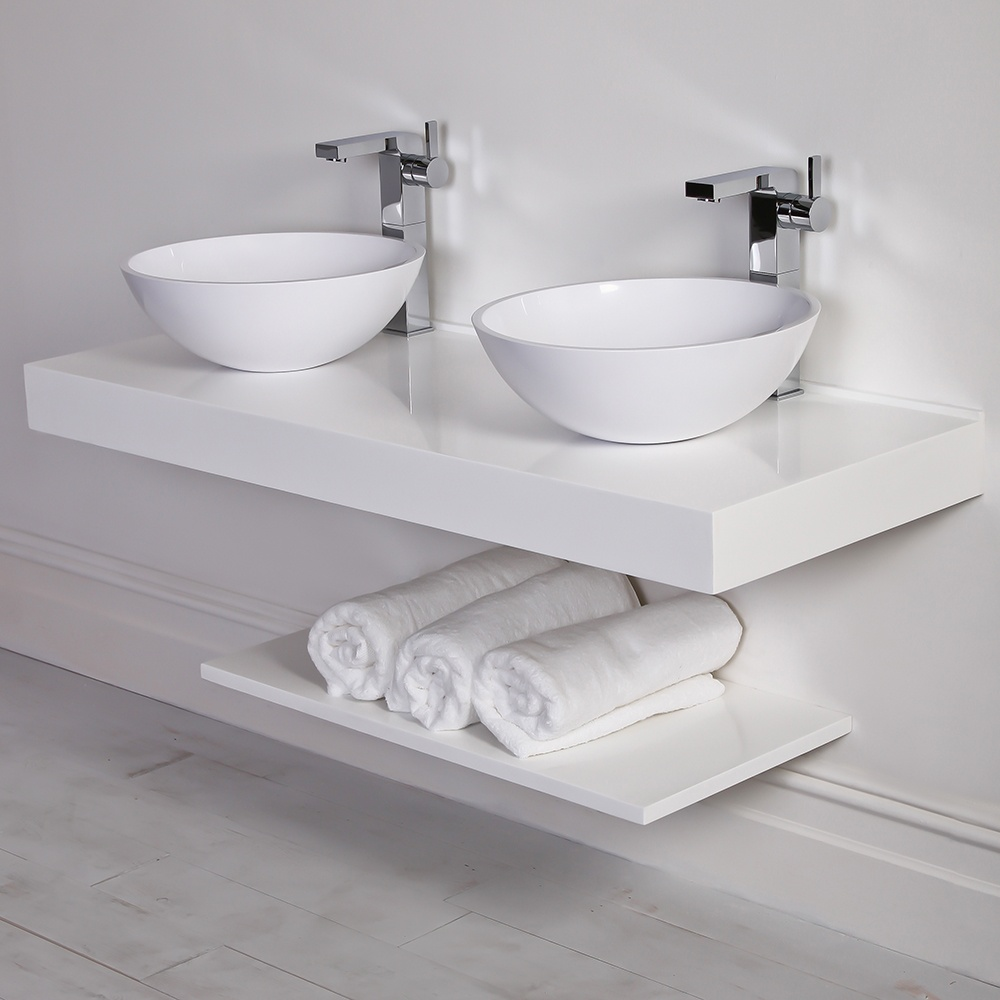 The paper mulberry bathrooms lusso stone for Bath 1200
