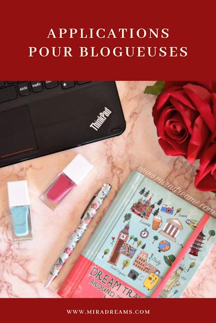 Les 6 applications mobiles indispensables pour une blogueuse (blogeur)