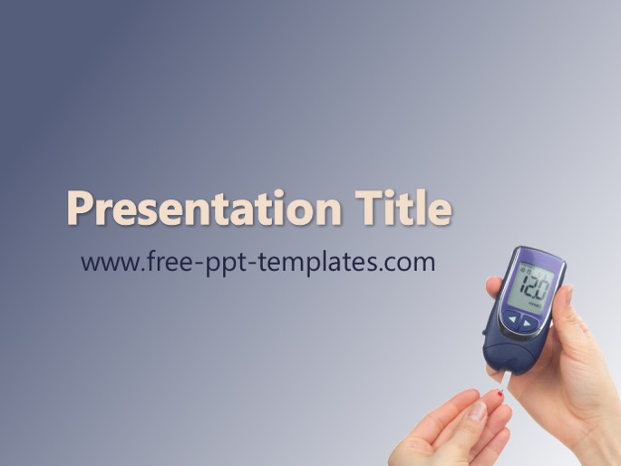 Diabetes ppt template toneelgroepblik Image collections